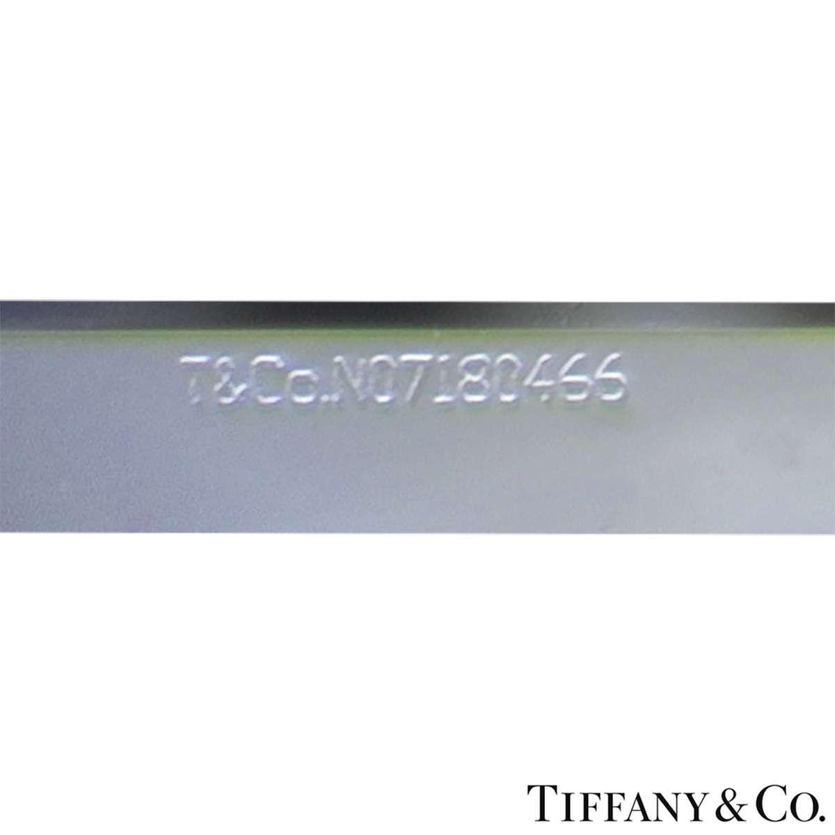 Tiffany & Co. Platinum Cushion Cut Diamond Novo Ring 2.22ct G/VVS1